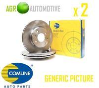 COMLINE FRONT BRAKE DISCS SET BRAKING DISCS PAIR OE REPLACEMENT ADC0296V