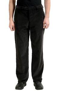 Costume National Homme Men's Gray Corduroy Casual Pants US 34 IT 50