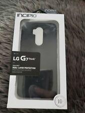Brand New Incipio Dualpro Series Case for LG G7 ThinQ - Black (191058073525)