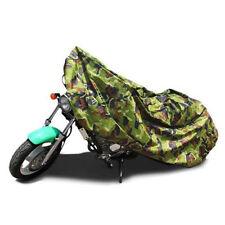 Camo Dustproof Outdoor UV Protector Motorbike Rain Dust Bike Motorcycle Cover L