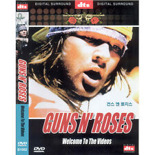 Guns N'Roses: Welcome to the Videos (DVD,All,Sealed,New)