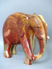 Große Onyx Marmor Elefant 20 x 26 cm 5418 Gramm Figur Figure Figurine um 1950
