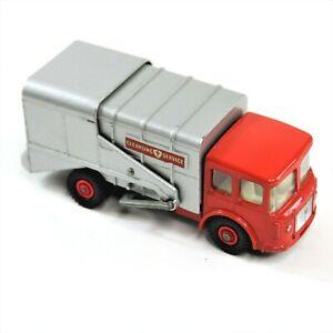 Vintage Matchbox Series Lesney King Size K-7 Garbage Trash Refuse Truck 1960 VTG
