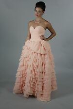 Real Picture Gorgeous layers Silk Wedding dress