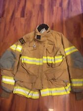 Firefighter Janesville Lion Apparel Turnout Bunker Coat 46x32 2009