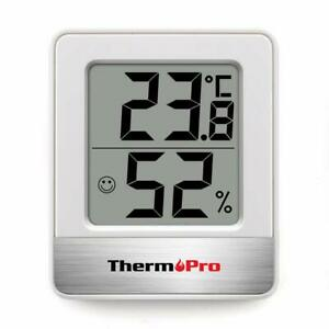 Digital Room Thermometer Indoor Hygrometer Temperature Monitor Humidity Meter