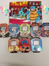 50 Pokemon Karten/1Tin Box/ Deutsch Original Karten /1GX oder V/Boosterfrisch