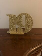 New listing Gold Glitter Table Numbers (1-20)