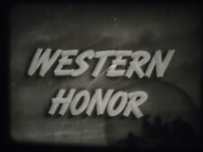16mm Western Honor Kirby Grant Fuzzy Knight Castle Films Sound