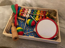 Melissa  And Doug Band In A Box Complete Children's Musical Instruments Triangle