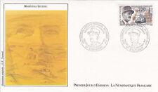Enveloppe 1er jour timbrée GUERRE 39-45 WW2 1987 maréchal LECLERC 2