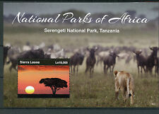 Sierra Leonean Sheet Animal Kingdom Postal Stamps
