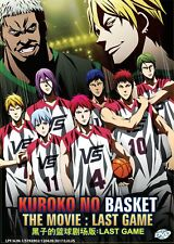 DVD Kuroko No Basket The Movie Last Game English Sub Free Shipping & Anime