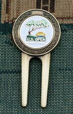 Vintage_2008 US Open Torrey Pines_Gold Plated Ball Marker + Divot Tool