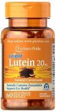 Lutein 20 mg with Zeaxanthin x 60 Softgel Eye Health ** AMAZING PRICE **