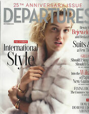 DEPARTURES MAGAZINE 25TH ANNIVERSARY ISSUE SEPTEMBER 2104 INTERNATIONAL STYLE
