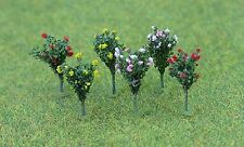 JTT Scenery Products HO Scale Pack of 18 Hibiscus (1.6cm) # 95607
