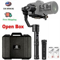 Used Zhiyun Crane Plus 3-Axis Handheld Gimbal Stabilizer for DSLR Camera