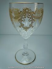 St Louis Bartholdi Gold Continental Goblet