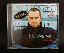Import Nick Warren global underground 011 Budapest dance mix CD England trance