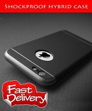 Luxury Shockproof Hard Back Case Cover for iPhone 6/6S BLACK16
