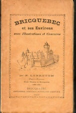 Bricquebec et ses environs par P.Lebreton.Ed.originale