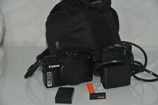 Canon EOS M 18.0 MP Kompact System Kamera Schwarz