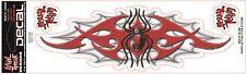 Lethal Threat Sticker Adhesivo tribal Spider Web casco, Bike, quad, coche, camión