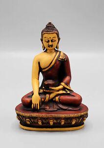 """Shakyamuni Buddha Statue-Resin Buddha Statue 5.6"""" from Nepal"""