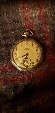 14k gold filled 17 jewels Antique Dueber Hampden 1917 pocket watch