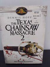 The Texas Chainsaw Massacre 2: Gruesome Edition Dvd Tobe Hooper 1986 horror