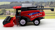 PERSONALISED NAME Gift Red Combine Harvester Farm Toys Boys Toy Present Boxed