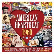 AMERICAN HEARTBEAT 1960 (NEW SEALED 2CD) Elvis Presley-Buddy Holly-Gene Pitney