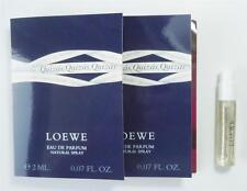 LOEWE Quizas Eau de Parfum Women 2 ml .07 fl oz Sample SPRAY Vials X 2