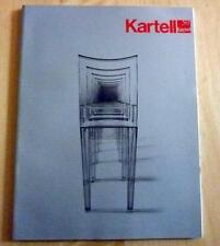 DESIGN MOBILIER DECORATION  MEUBLES   CATALOGUE cinquantenaire KARTELL 1999