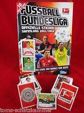 Topps liga 2011/2012 juego de completamente + album = todos vacíos sticker album 11/12