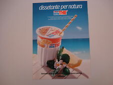 advertising Pubblicità 1986 FERRERO ESTATHE' ESTA THE'