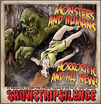 Monsters and Humans: Horrorific and All New! CD (2006) GR0002