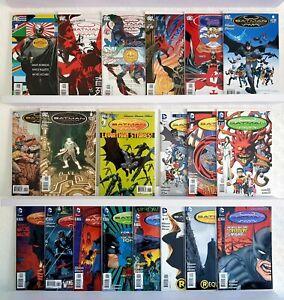 Job Lot Box Collectable DC Bundle Batman Incorporated Comics New 52 Full Runs