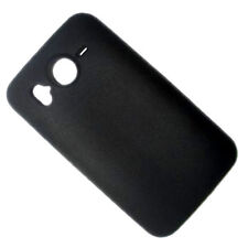 HQRP Slim Silicone Black Case / Skin / Sleek Cover Case for HTC Desire HD
