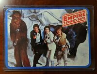1980 Star Wars The Empire Strikes Back - Antique  Postcard - Hoth Rebel Base