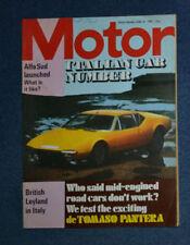 June Cars, 1970s Motor Transportation Magazines
