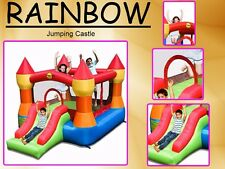 Outdoor jumping castles ebay for Happy hop clown bouncy castle