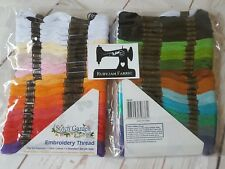 Stitch Garden 50 pack embroidery thread floss for cross stitch etc