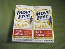 New ! 4 x 75ct Schiff Move Free Ultra Triple-Action Tablets