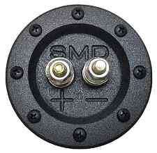 "SMD 1 Channel Heavy Duty Speaker Terminal (Grade 8) (3/4"" PVC Black) (Round)"