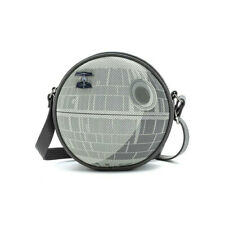 Star Wars Death Star Pin Collector Bag with Pin Faux Leather By Loungefly