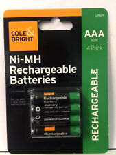 AAA Rechargeable Solar Light Batteries 1.2v 600mAh NiMH for UK Outdoor Lights
