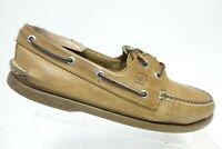SPERRY TOP-SIDER A/O 2-Eye Brown Sz 10.5 M Men Boat Shoes