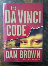 Da Vinci Code Dan Brown Hardcover First Edition 2003